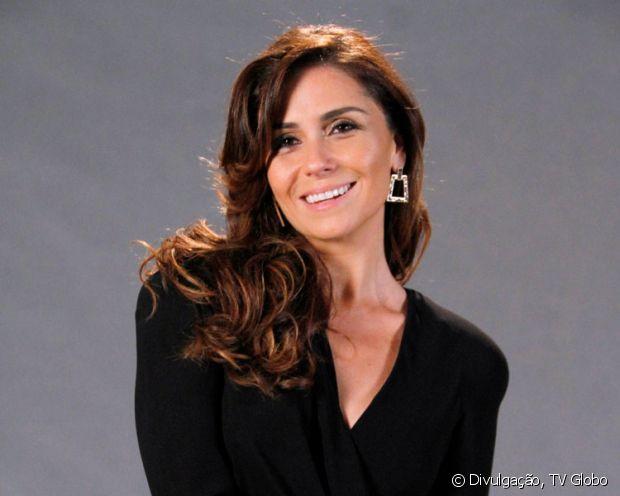 Giovanna Antonelli exibiu o cabelo com um marrom iluminado na época do lançamento de 'Salve Jorge'