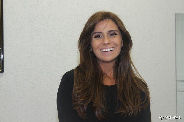 Giovanna Antonelli gosta de finalizar o cabelo com onda suaves