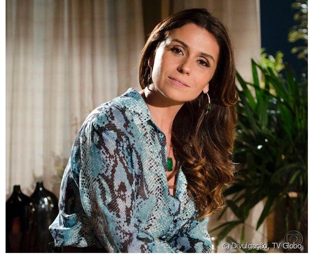 Giovanna Antonelli exibiu cabelos volumosos na novela 'Salve Jorge' (2012)