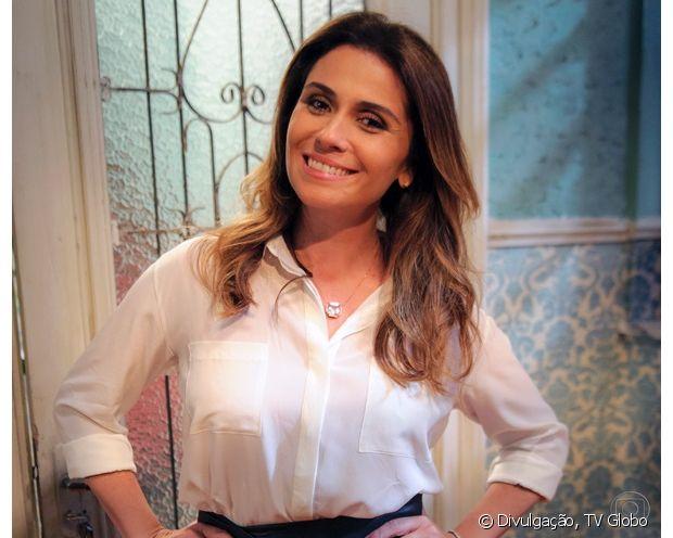 Giovanna Antonelli participou do seriado 'Pé na Cova' (2013) com os cabelos iluminados com algumas mechas