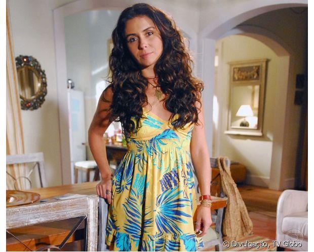 Giovanna Antonelli exibiu cabelos cacheados e volumosos em 'Viver a Vida' (2009)