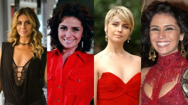Giovanna Antonelli sempre muda o cabelo para suas personagens