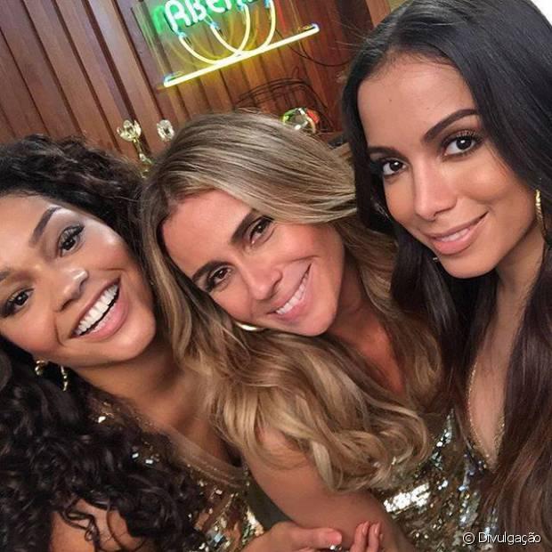 As novas divas e embaixadoras Niely: Juliana Alves, Giovanna Antonelli e Anitta