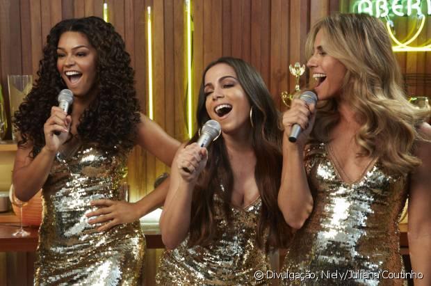 Confira nossas divas Juliana Alves, Anitta e Giovanna Antonelli cantando 'Bang' no karaokê, aqui no site!