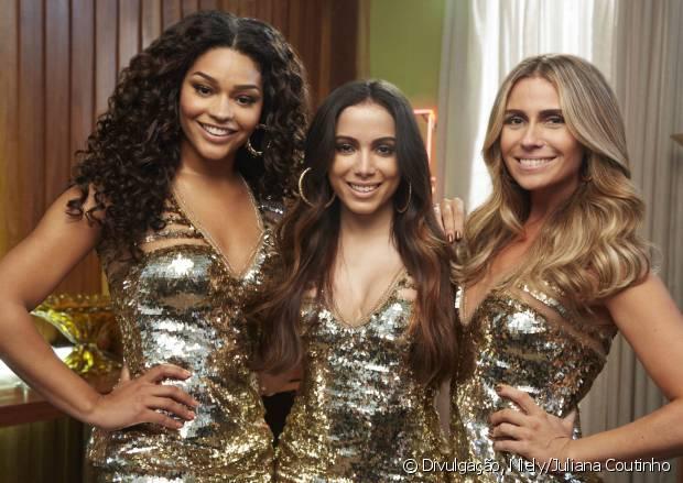 Juliana Alves, Anitta e Giovanna Antonelli compõem o novo time de embaixadoras Niely Gold!