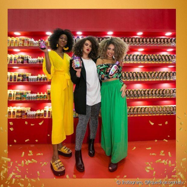 As embaixadoras Camilla de Lucas, Nina Gabriella e Amanda Rodrigues também marcaram presença na Beauty Fair