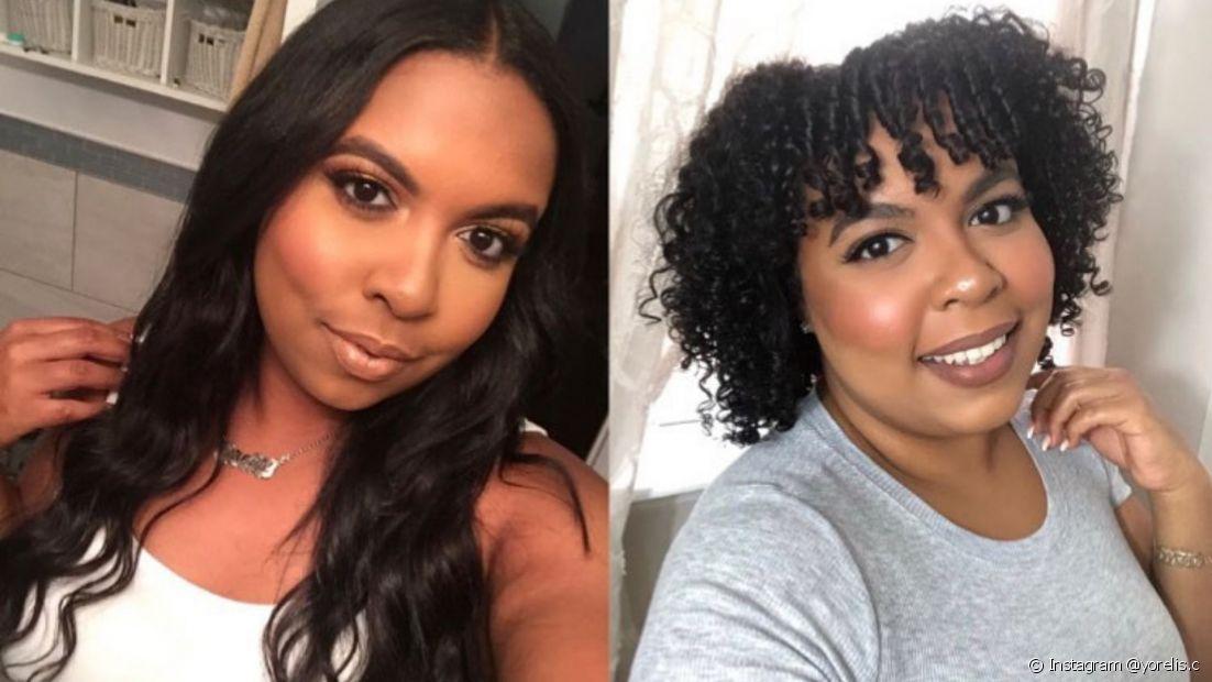 A transição capilar recupera a saúde e beleza natural dos cabelos cacheados e crespos. (Foto: Instagram @yorelis.c)