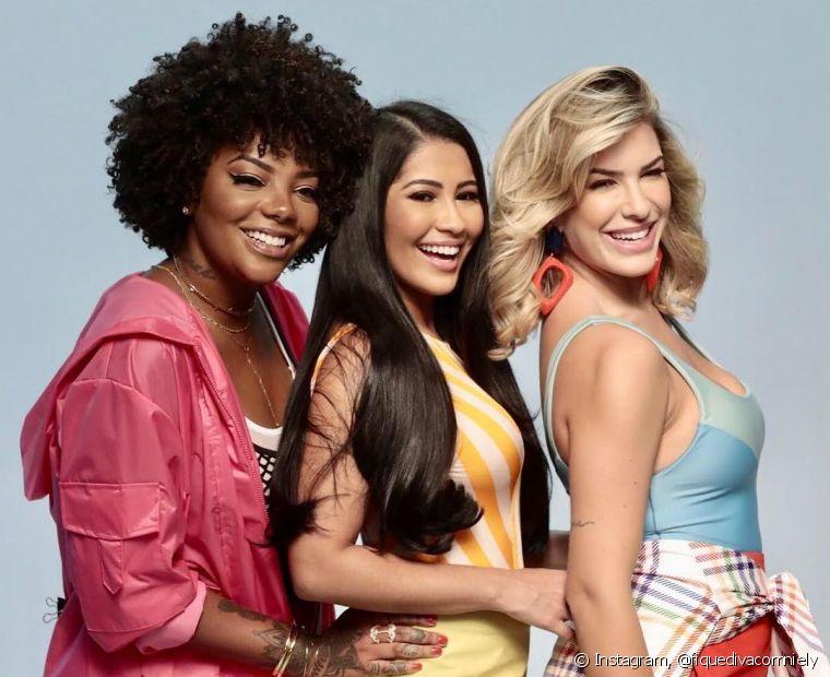 O trio de divas Niely está completo: Ludmilla, Thaynara OG e Lore Improta