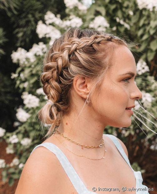 Como escolher o penteado para o Ano Novo? Confira as inspirações que o Fique Diva trouxe para você! (Foto: nstagram, @kayleymelissa)