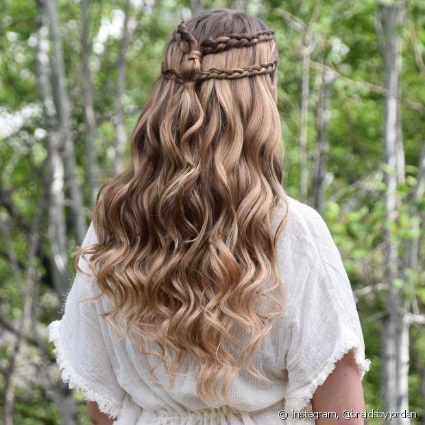 As tranças tradicionais também podem ser estilizadas - @braidsbyjordan