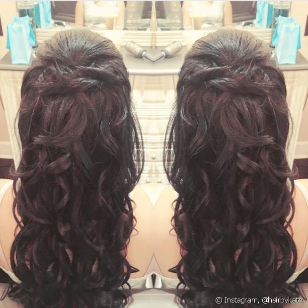 O semipreso torcidinho é perfeito para as formandas - @hairbykate