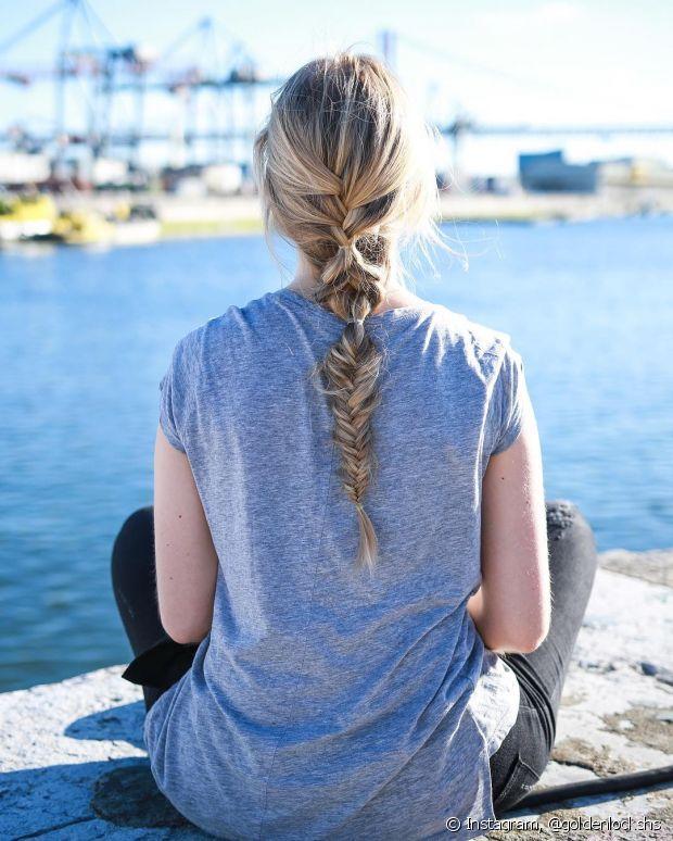 Mesmo que pareça um ato inofensivo, prender os cabelos de forma errada pode causar danos sérios a seus fios