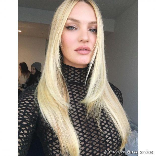 A Angel da marca de lingerie Victoria's Secret, Candice Swanepoel, confessou que passa maionese na hora de cuidar dos fios