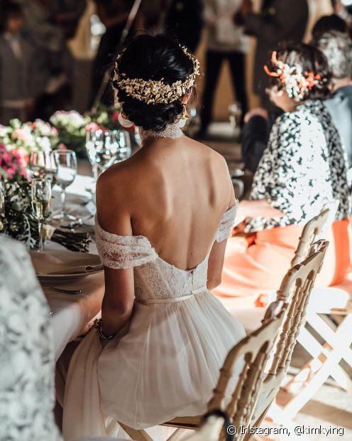 Os penteados para noiva são tão importantes quanto o vestido (Foto Instagram: @kimkying)