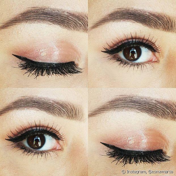 Sim, isso mesmo! Use o efeito gloss nos olhos. Aline contou para o Fique Diva, que além de usar o produto por cima dos batons vibrantes ou sozinho nos lábios, ele pode ser aplicado nos olhos