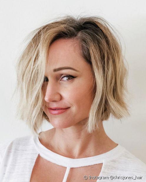 Mude o visual com um corte de cabelo curto (Instagram @chrisjones_hair)