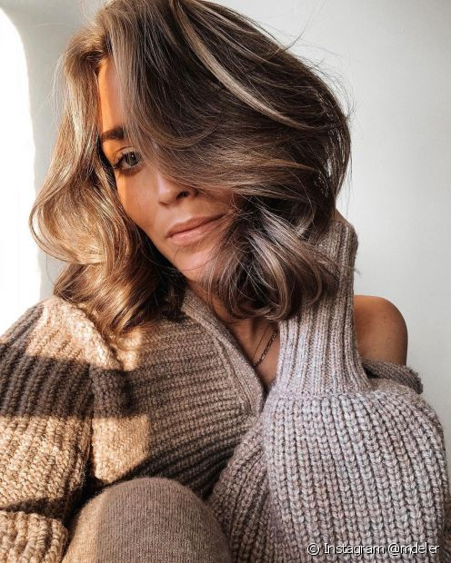 Escolha seu corte de cabelo curto favorito (Instagram @mdeler)