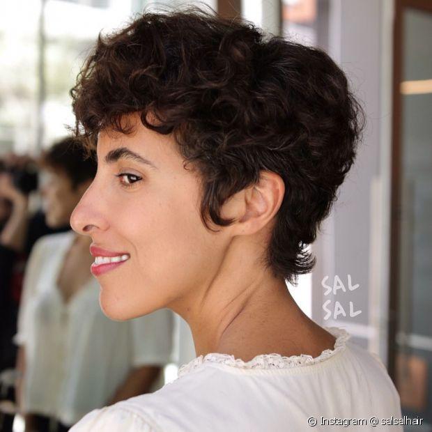 O pixie hair é ideal para as divas que querem ousar (Instagram @ salsalhair)