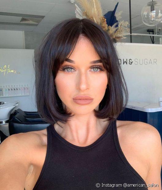 Aposte em um corte de cabelo curto e renove o visual (Instagram @american_salon)