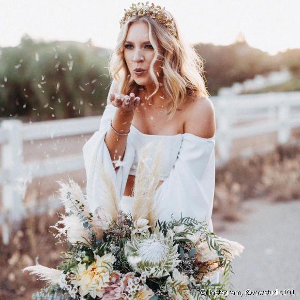 Manter o corte em dia é uma dica que faz toda diferença no resultado final do penteado da noiva