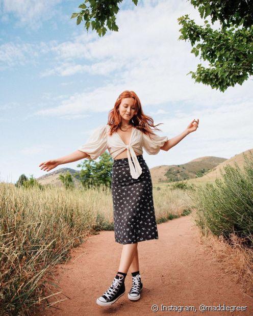 O cabelo vermelho virou paixão nacional, por isso, o Fique Diva separou 5 dicas para cuidar dos fios durante o verão (Foto: Instagram, @maddiegreer)