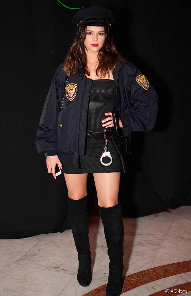 Bruna Marquezine encarnou a policial