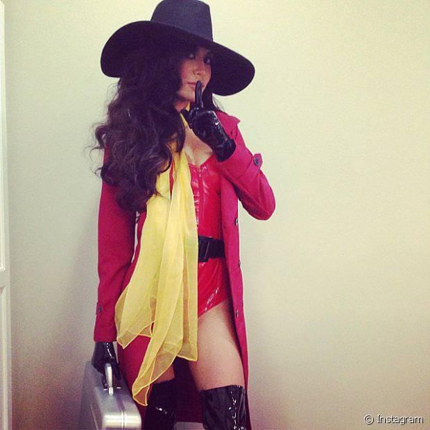 Naya Rivera de Carmen Sandiego