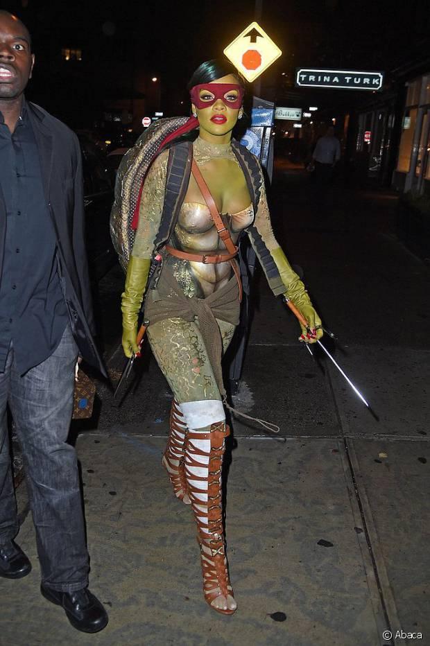 Rihanna de Tartaruga Ninja