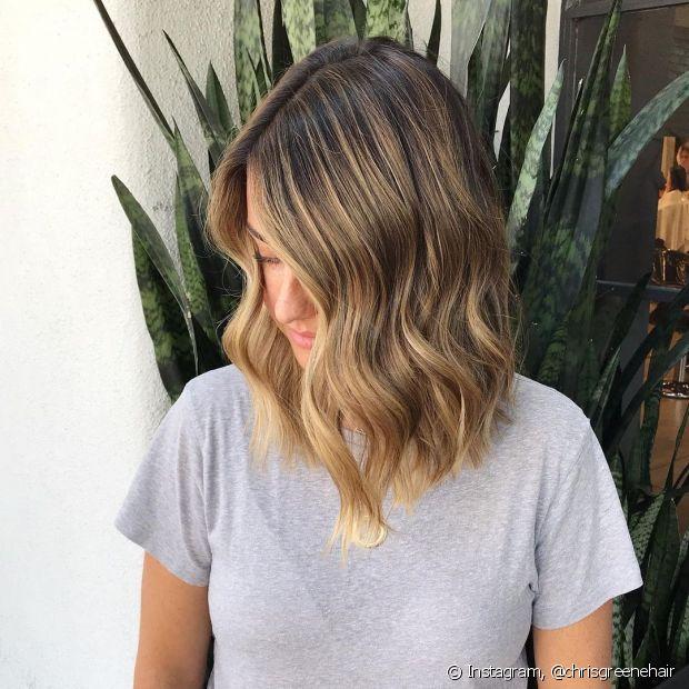 Conheça diferentes opções de cortes de cabelo médio para várias texturas de fios (Foto: Instagram @chrisgreenehair)