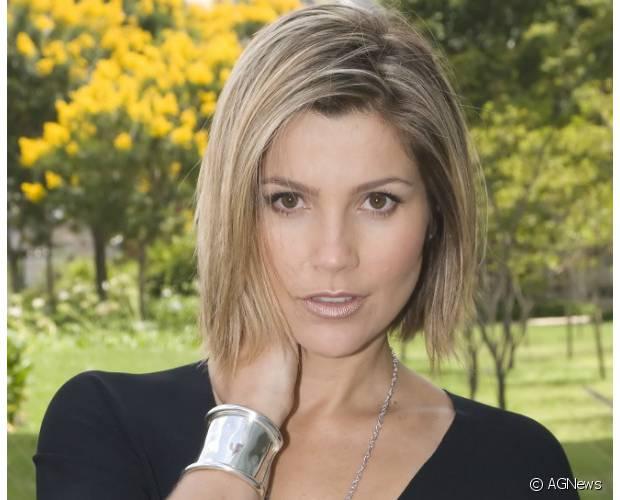 Flávia Alessandra também já teve os cabelos bem curtinhos