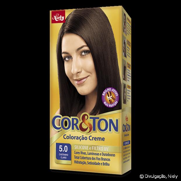 5.0 Castanho Claro de Cor&Ton