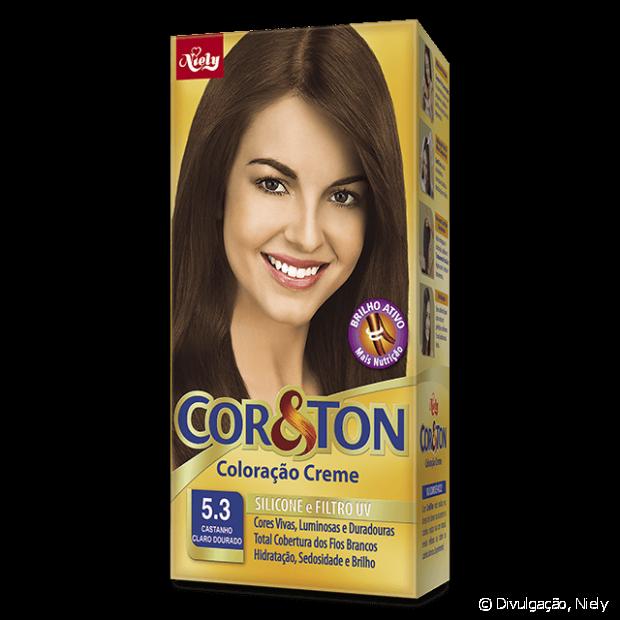 5.3 Castanho Claro Dourado de Cor&Ton