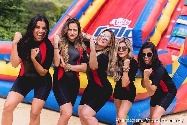 Danielle Dias, Gabi Martins, Cacau, Jessica Belcost, Thalita Ferraz é o nosso #TimeGold na Casa de Verão da Anitta