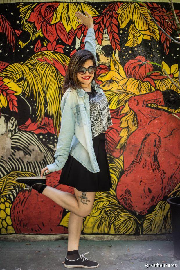 Natalia Salvador define seu estilo como roqueira fofa - @salvador.na