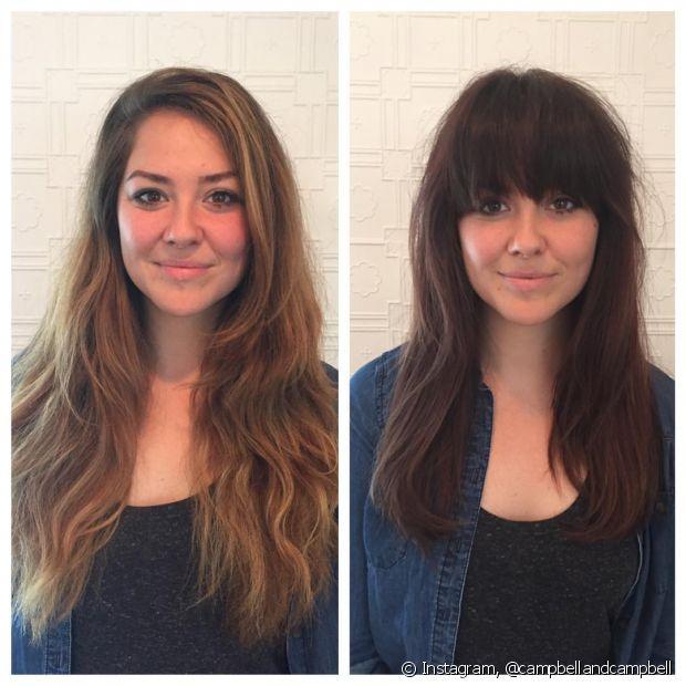 Fazer um corte com a navalha diminui - e muito - o volume do cabelo