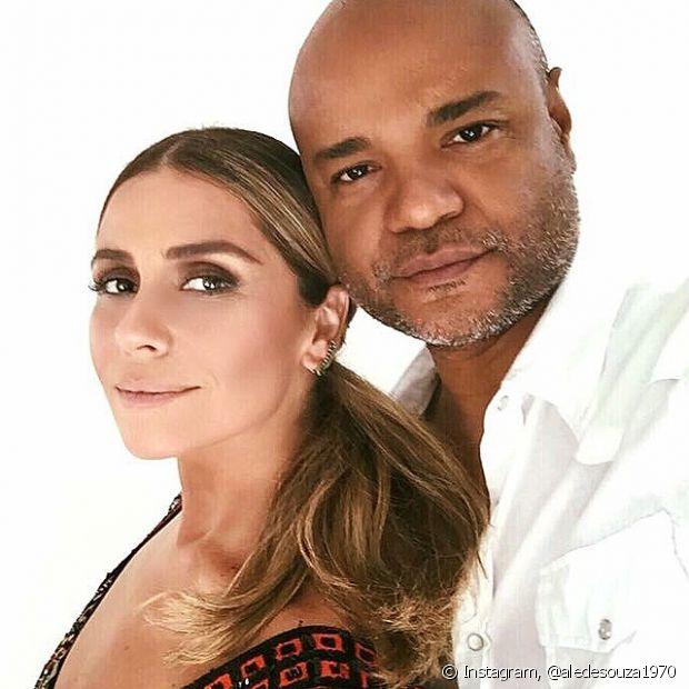 Alê de Souza e Giovanna Antonelli são amigos de longas datas