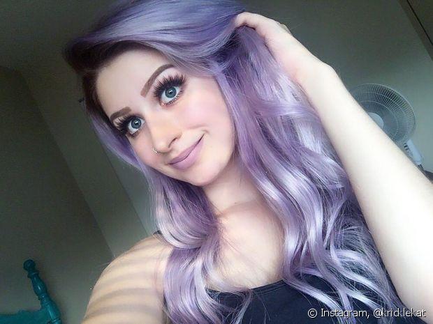 O lilás é uma ótima opção para quem quer fugir da cor intensa