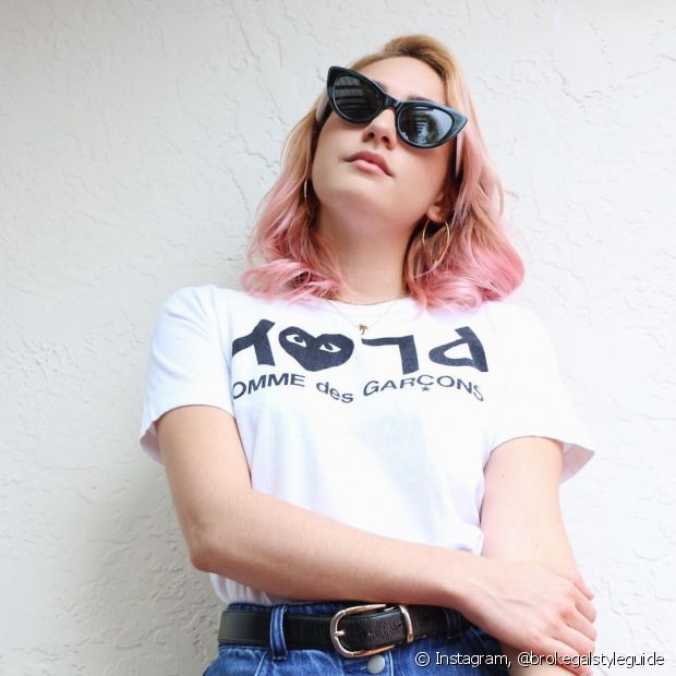 Aposte na tendência do rosa millenial para pintar seu cabelo