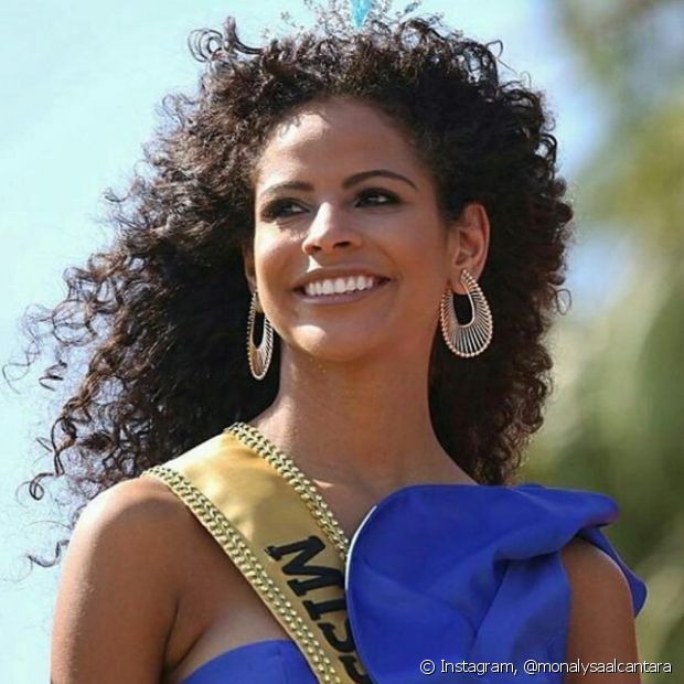 A piauiense Monalysa Alcântara venceu o concurso Miss Brasil 2017