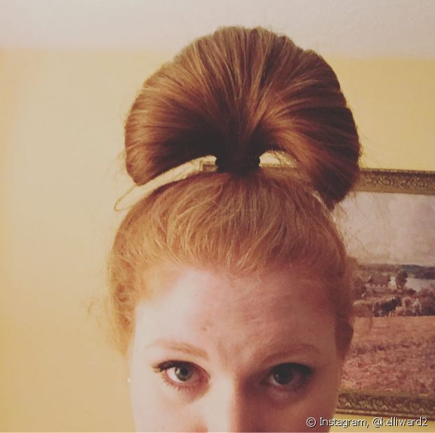 O coque leque é perfeito para o bad hair day