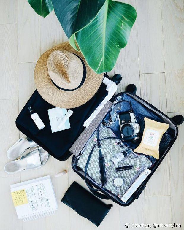 Viajar é muito bom, mas o quesito organização com a mala passa longe de muita gente