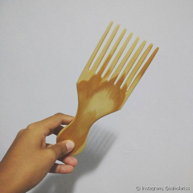 Se você usou o pente garfo com os fios úmidos e ele não deu certo para você, o problema pode estar aí