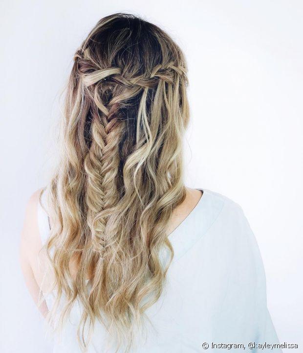 As tranças são penteados ótimos para madrinhas, porque são muito democráticas e ficam lindas em todos os tipos de cabelo