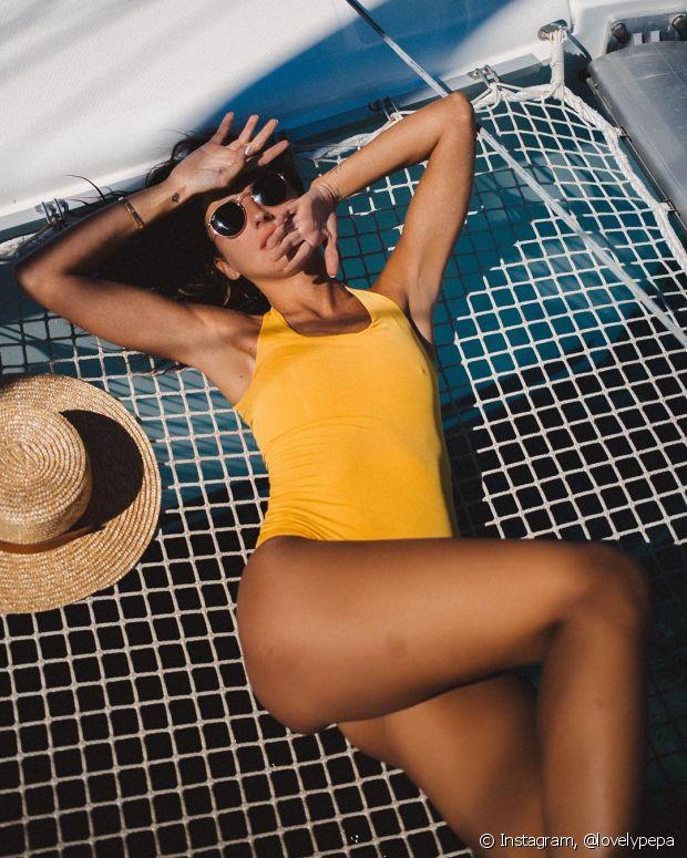 O leave-in e o creme para pentear com filtro UV são perfeitos para proteger o cabelo dos raios solares