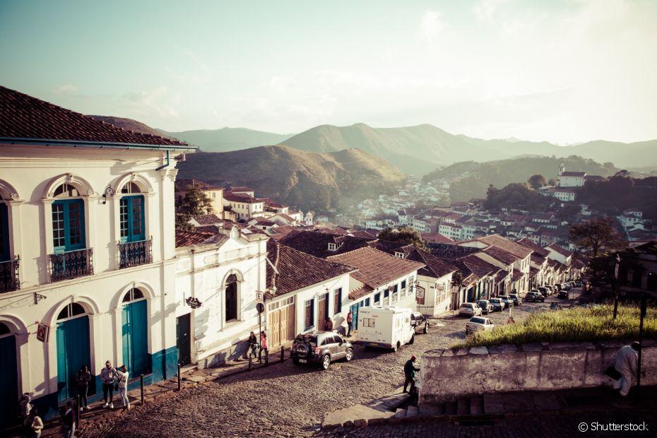 A beleza histórica das ruas de Ouro Preto faz você viajar no tempo