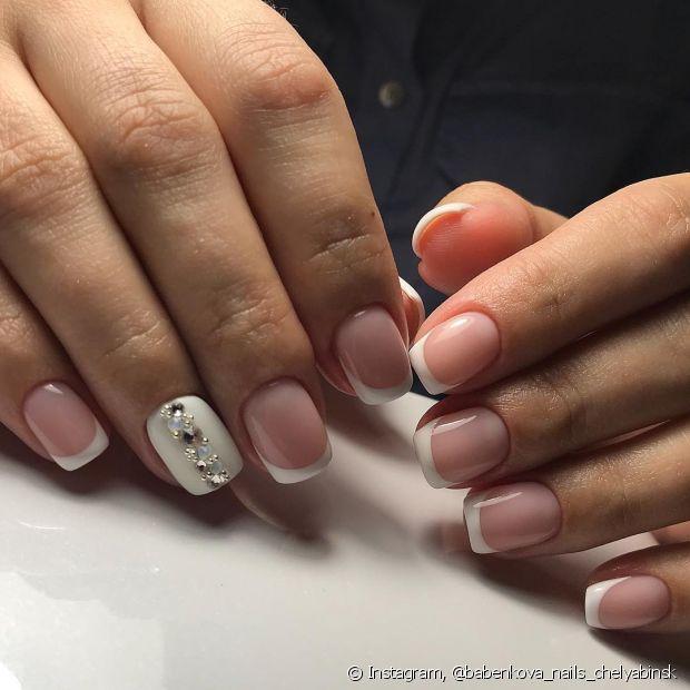 Misture diferentes técnicas de nail art na hora de montar a sua produção