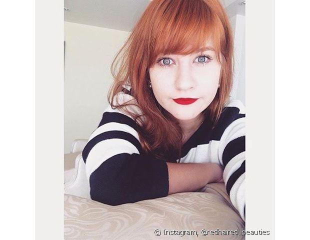 Vai curtir uma praia? Não esqueça de proteger as madeixas com leave-in! - Instagram - @redhead_beauties