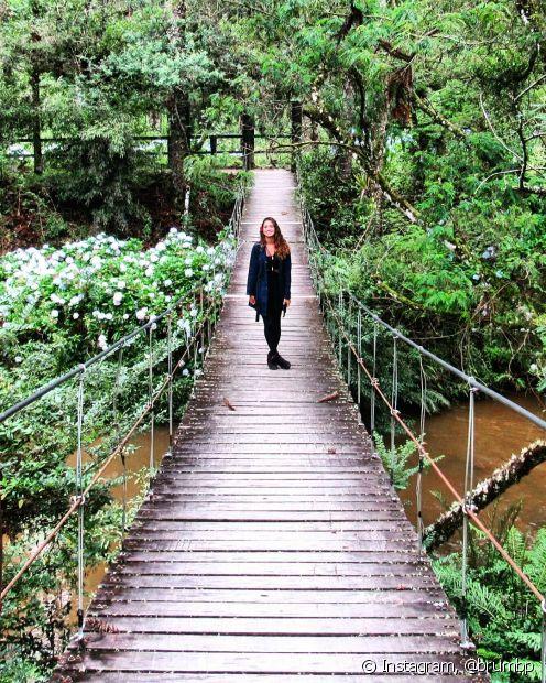 Campos do Jordão, em São Paulo, tem um clima bem agradável e aconchegante