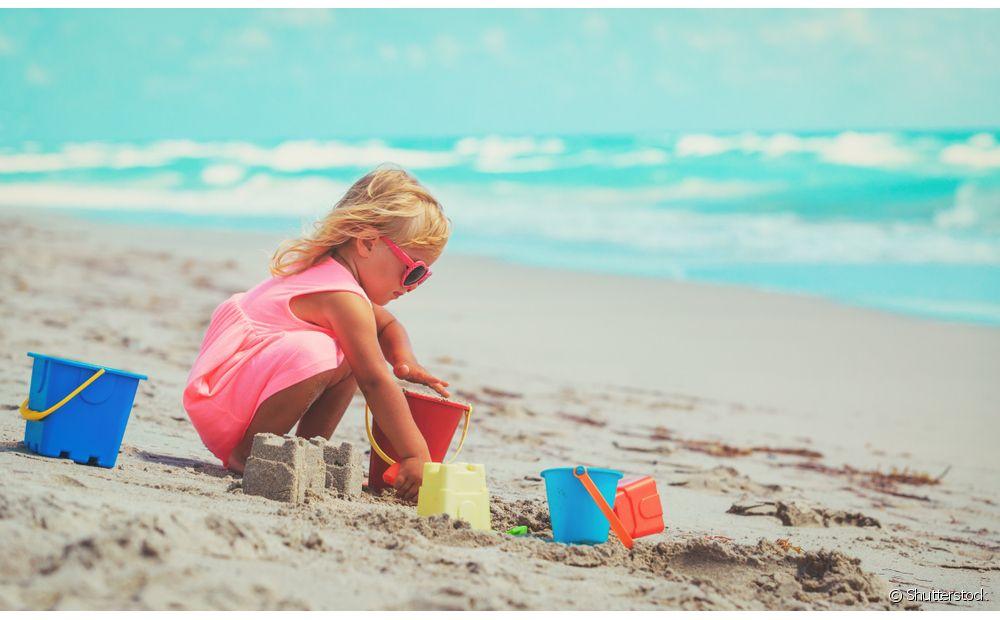 Que criança não ama praia?