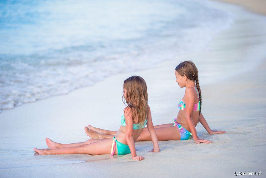 Nada melhor do que um dia de sol em família com sol e mar para recarregar as energias